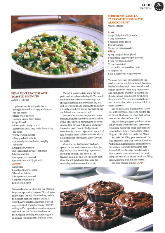 Anthea-Amore_PASSION-organic-vegan-recipes-to-live-for_Wellbeing-Magazine_June-2016_BleachPR